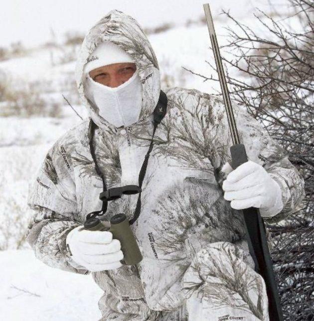 Охотник зимой