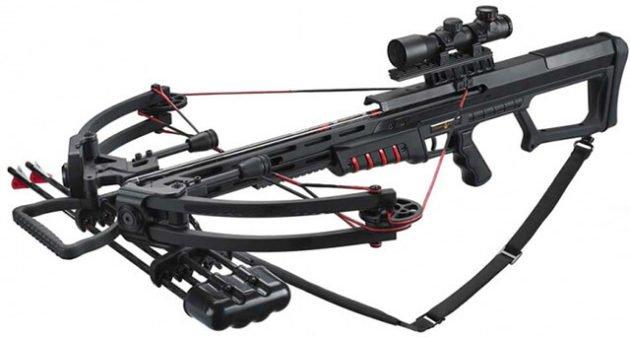 Блочный арбалет MK-400 (Man Kung) с силой натяжения 80 кгс