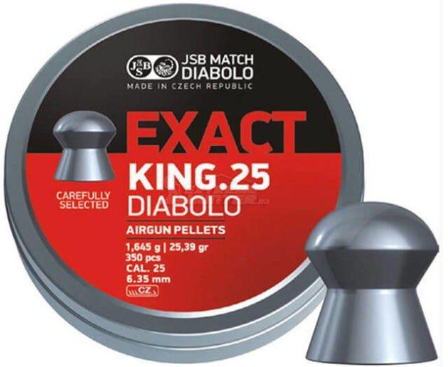 Пули пневматические JSB Diabolo Exact King 6.35 мм