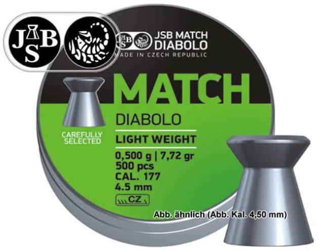 Пули пневматические JSB Diabolo Match