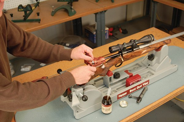 Чистка охотничьего ружья