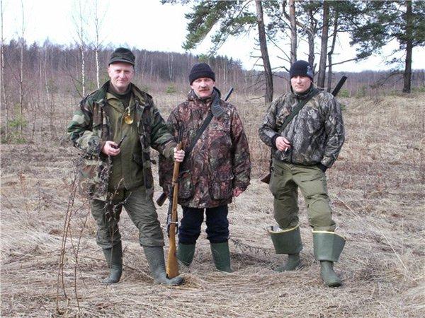 Одежда охотников