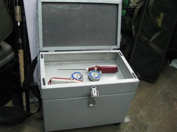 купить рыболовный ящик для зимней рыбалки