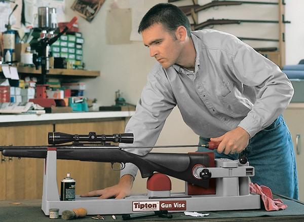 чистка нарезного оружия
