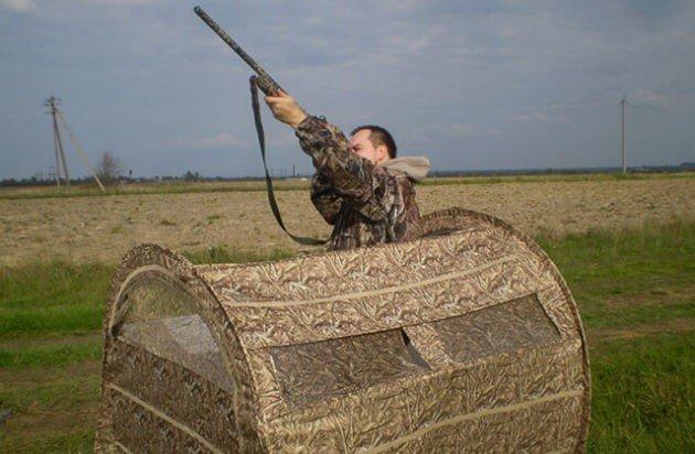 Как выбрать скрадок для охоты?