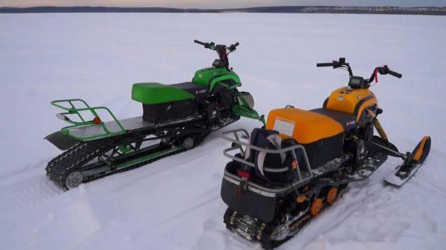 Доработки снегохода Irbis DINGO
