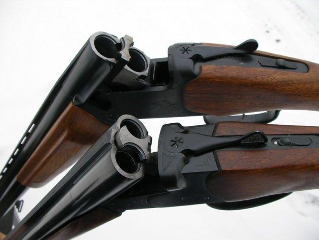 Гладкоствольные ружья 12 калибра