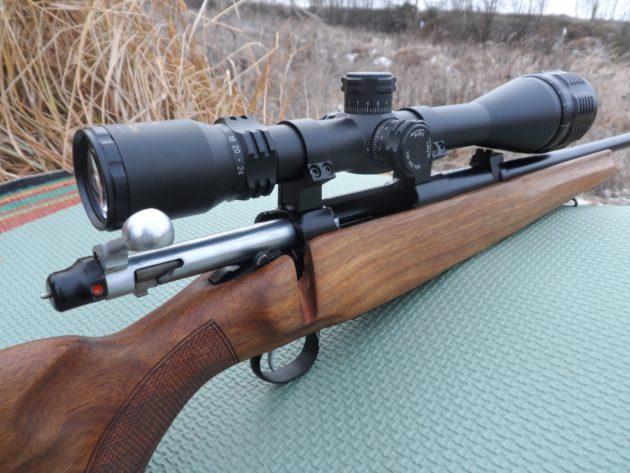 Охотничий карабин под патрон 9,3×64