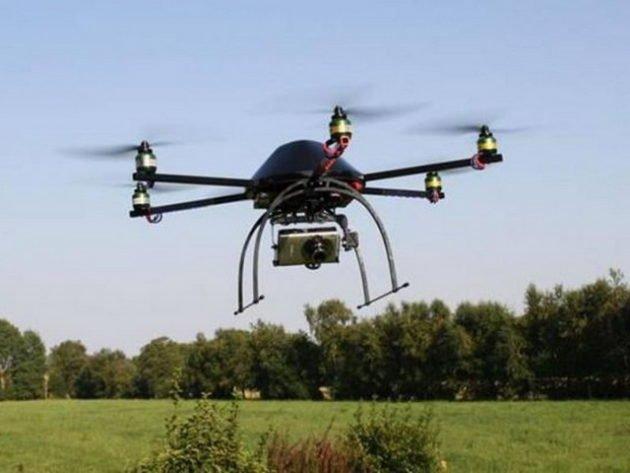 Использование дрона на охоте