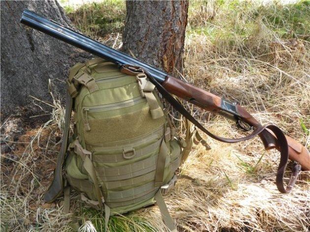 Рюкзак обычно используют для долгой охоты