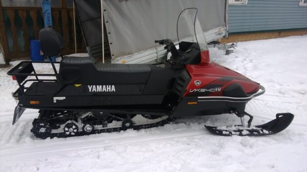 Снегоход Ямаха Викинг для охоты