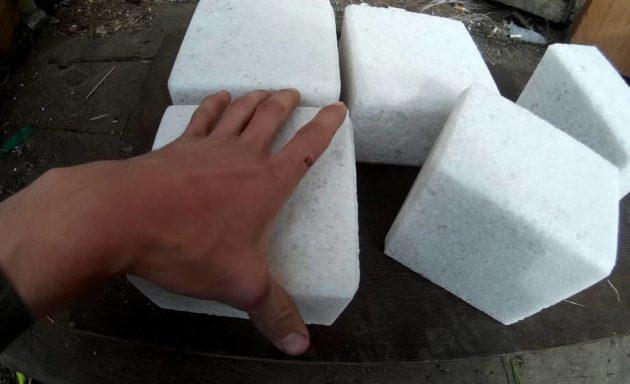 Соль для приманки лосей в брикетах