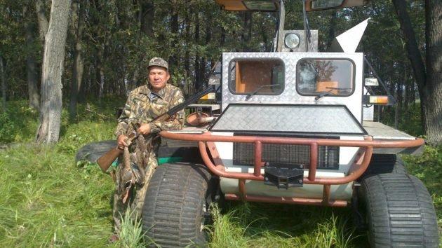 Использование специальных вездеходов для охоты
