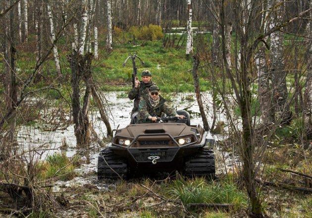 Колесный вездеход Tinger Armor W6