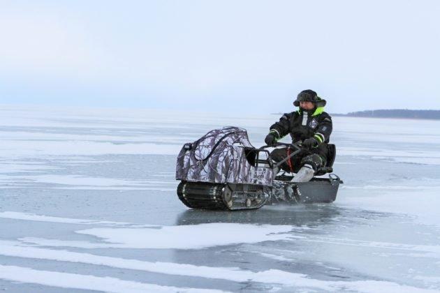 Мотобуксировщик Балтмоторс Snowdog Compact