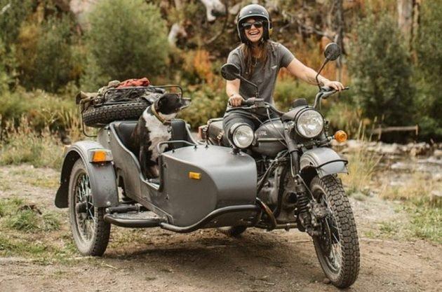 Для охоты хорошо подходит мотоцикл Урал с коляской