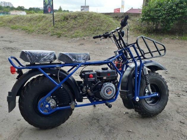 Мотоцикл для охоты Скаут