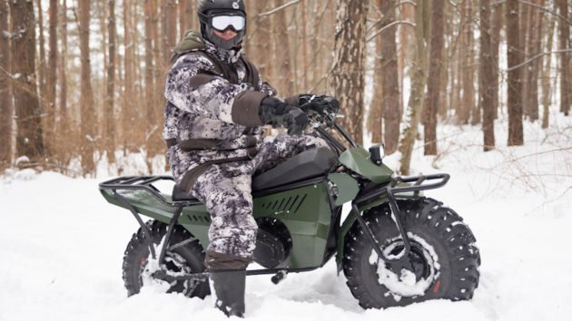 Мотоцикл для охоты ТАРУСЬ 2Х2