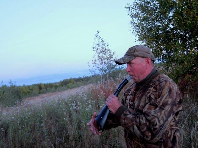 Охота на лося на реву