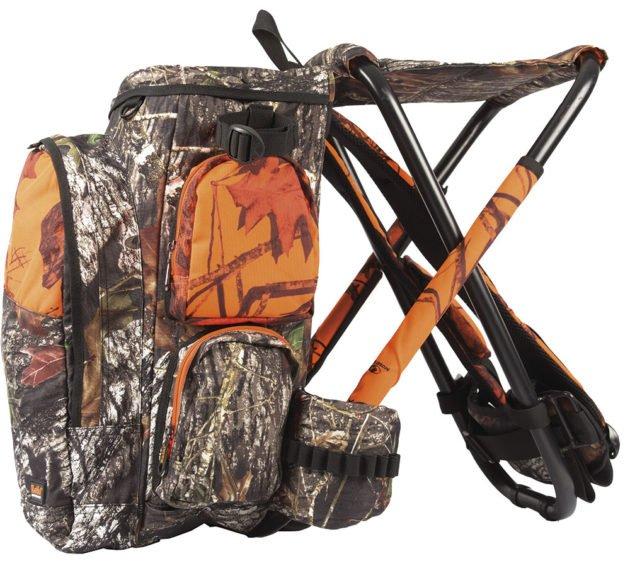 Охотничий рюкзак со стулом