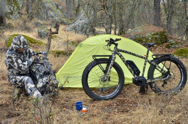 Использование велосипеда для охоты