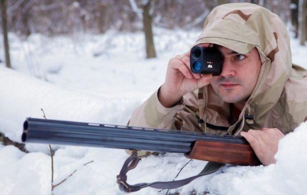 Использование устройства на охоте