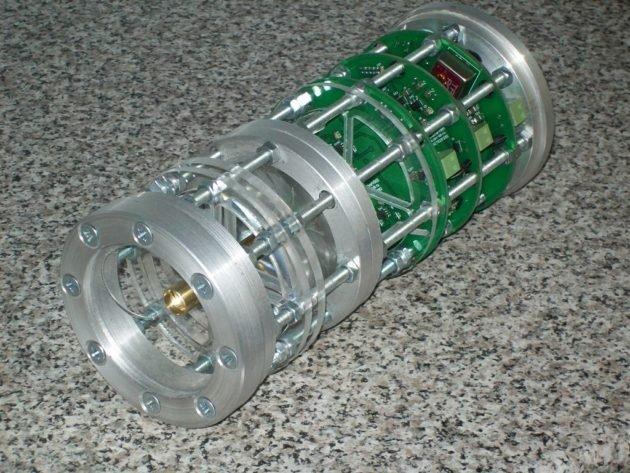Конструкция фазового лазерного прибора