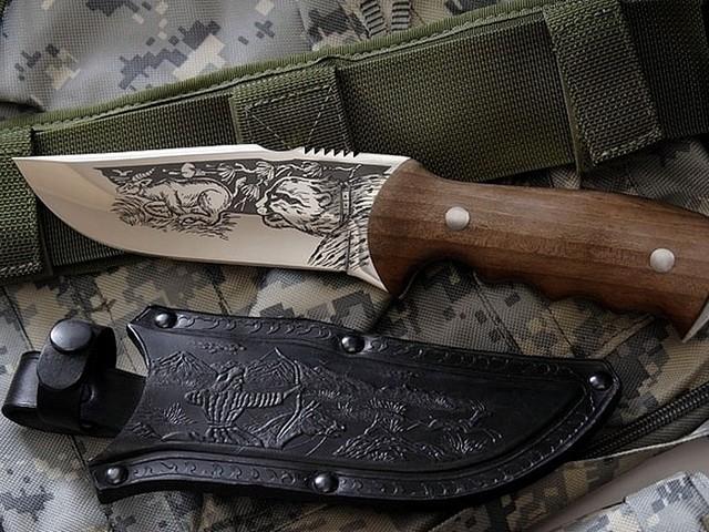 Холодное оружие для охоты