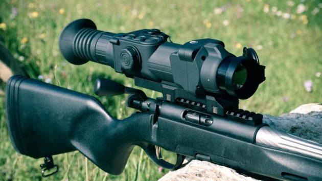 Пристрелка тепловизионного прицела