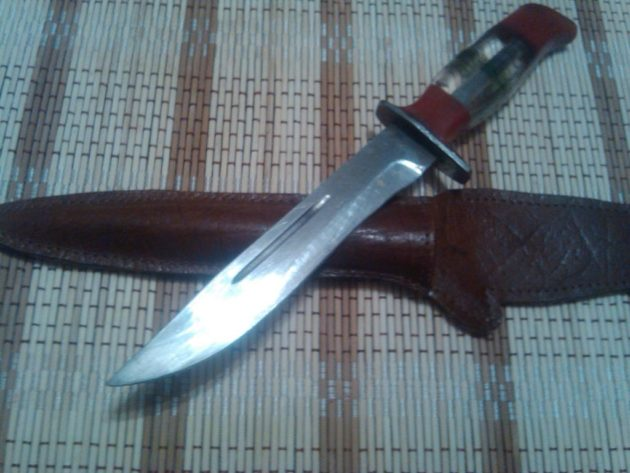 Финский нож советского образца