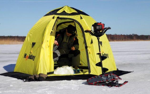 Полуавтоматическая для зимней рыбалки
