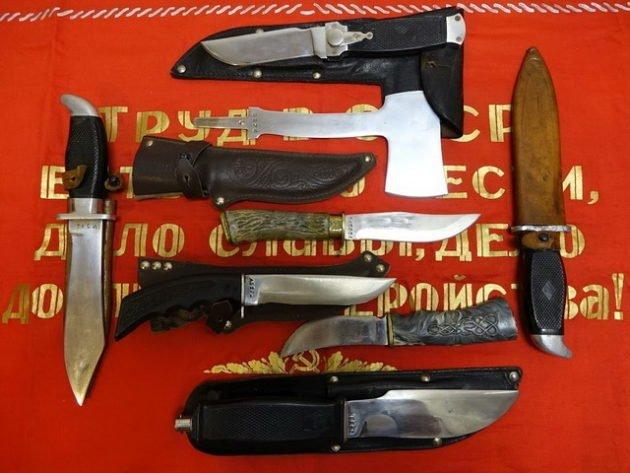 Ножи сделанные в СССР