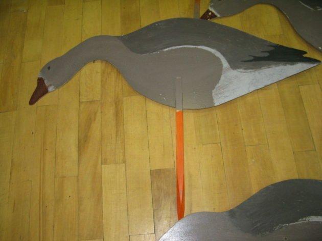 Раскраска гуся из фанеры