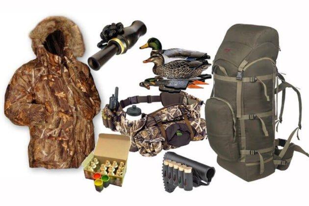 Снаряжение для охоты на утку