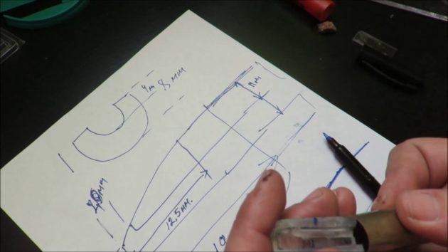Схема самодельного манка