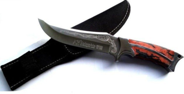 Универсальный охотничий нож Columbia USA