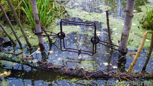 Установка ловушки на канале