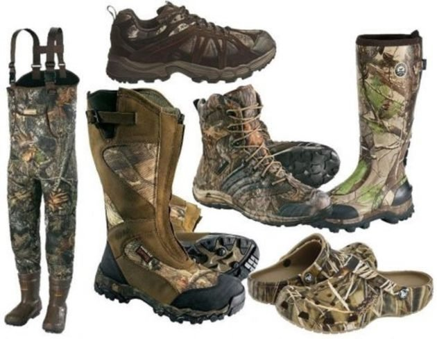 Виды обуви для охоты