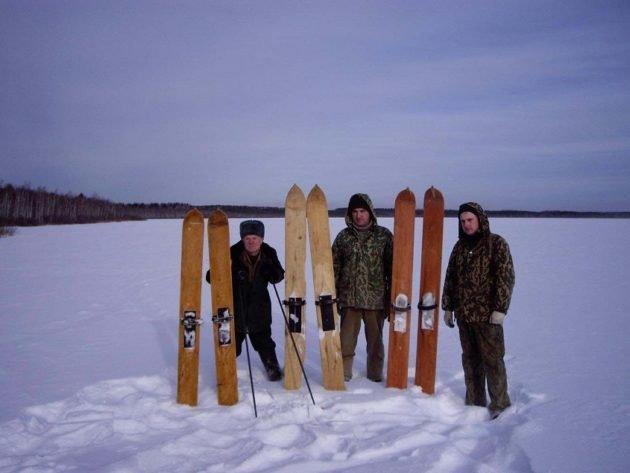 Выбирать лыжи следует по росту
