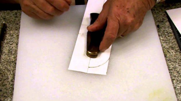 Изготовление бумажной выкройки