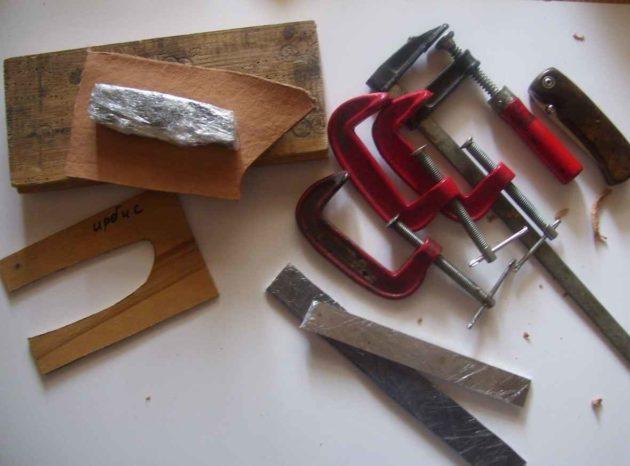 Материалы и инструменты для изготовления