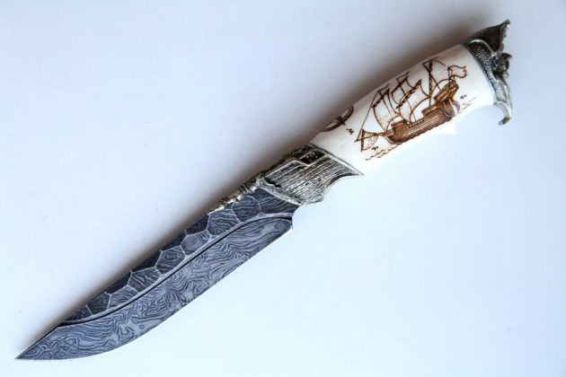 Чем точить охотничий нож