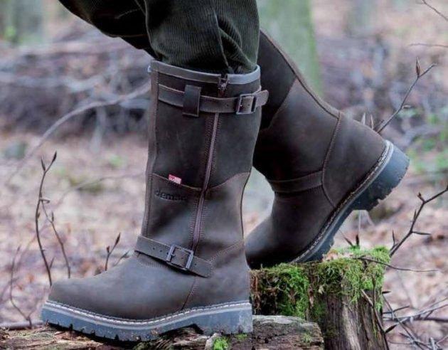 Обувь для охоты в лесу