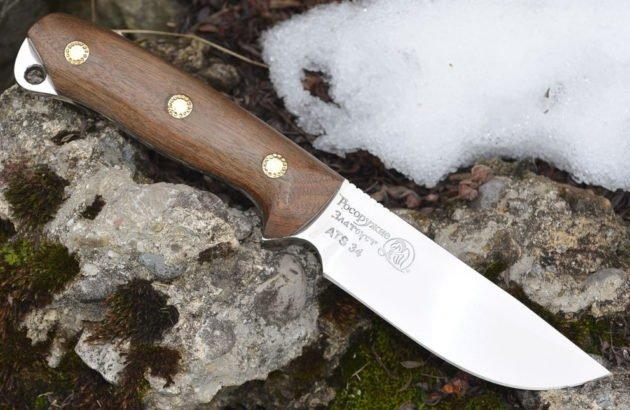 Златоустовский нож Странник