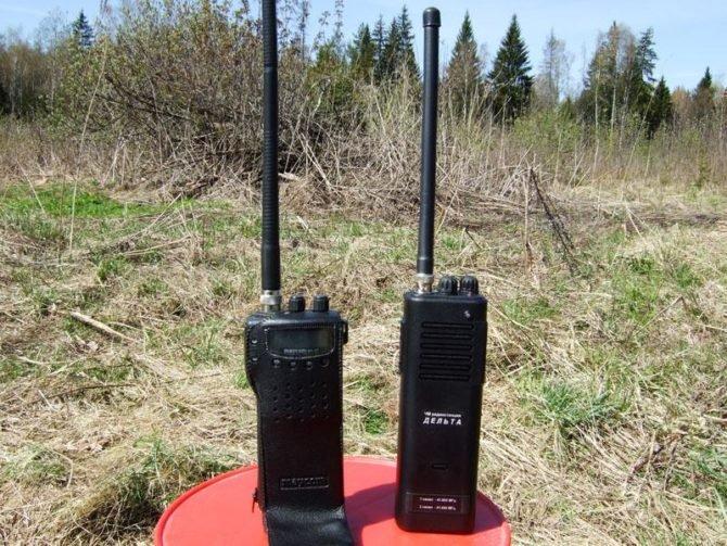 Дальность радиостанций в лесу