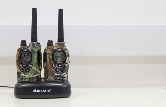 Компактные радиостанции с зарядкой