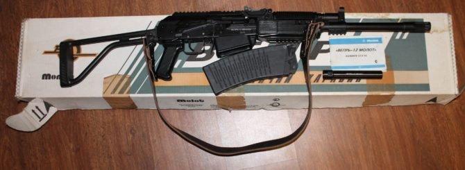 Карабин Вепрь-12 с магазином на 8 патронов