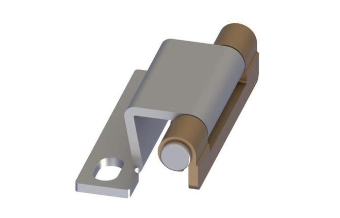 Металлическая потайная петля для сейфа