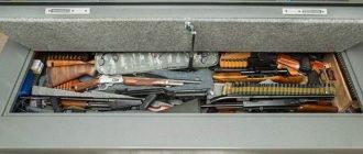 Оружейный сейф под кровать
