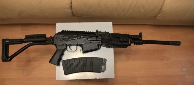 Ружье в варианте исполнения ВПО-205-00